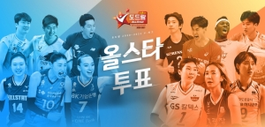 Dodram 2020-2021 V-League 올스타 온라인 팬 투표 15 일부터