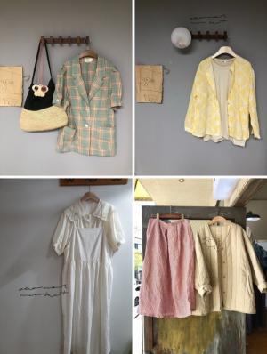 순천옷가게 '오트밀마켓' 다양한 의류로 개성있는 스타일링 연출